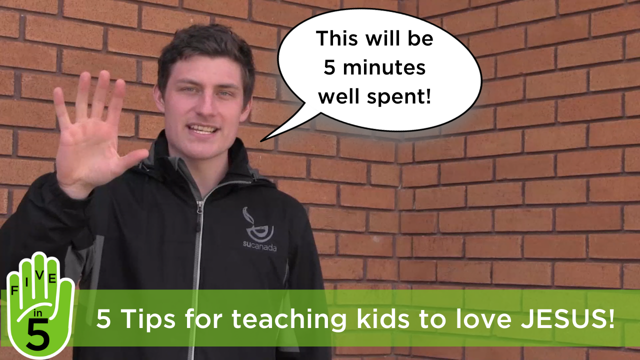 _5 Tips for teaching kids how to love Jesus