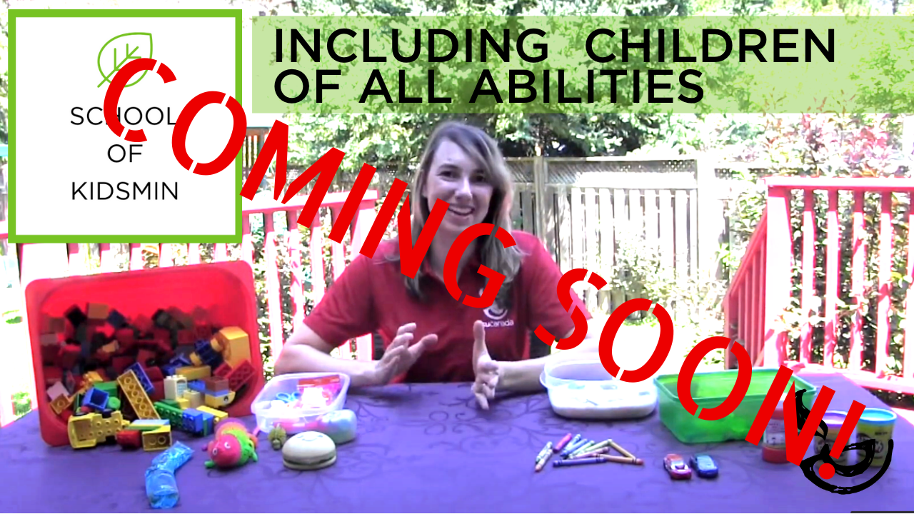 Coming Soon Including Children of All Abilities