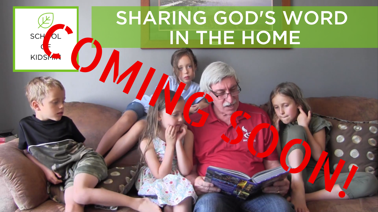 Coming Soon SHARING GOD'S WORD IN THE HOME
