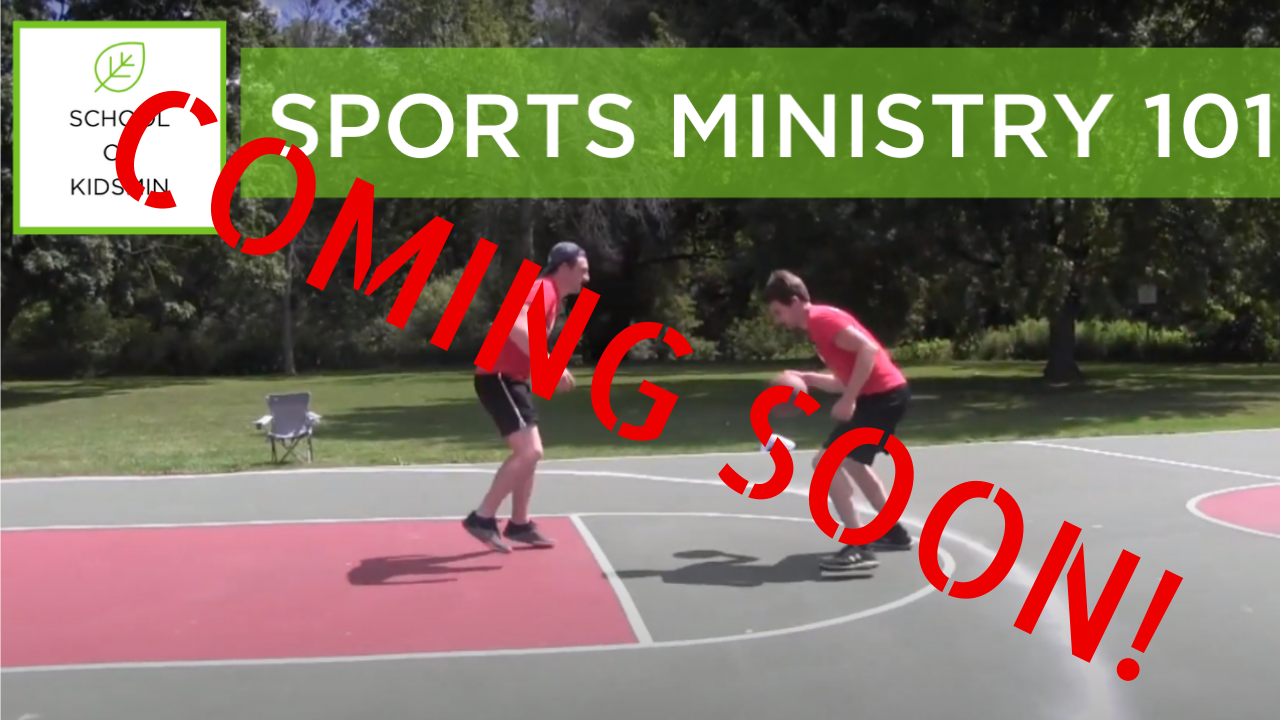 Copy of Coming Soon! SPORTS MINISTRY 101