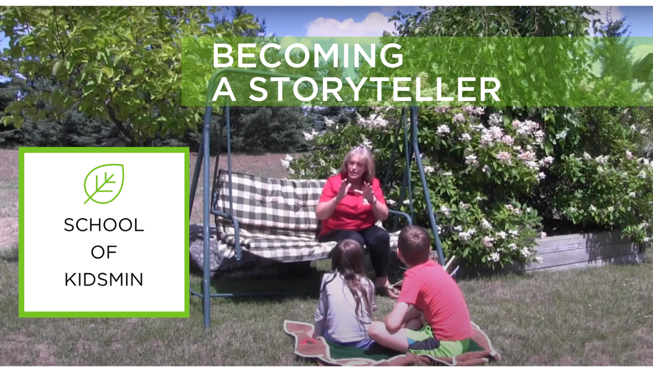 How to be a good storyteller - School of KidsMin