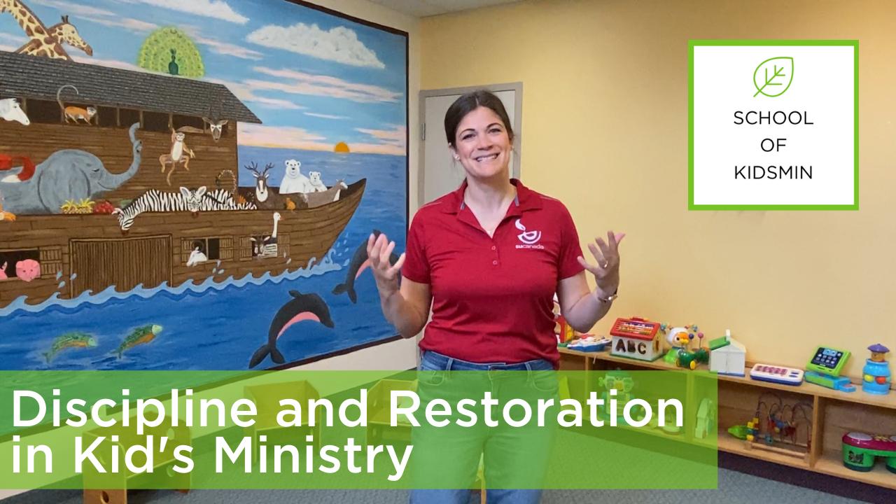 Discipline Strategy for Children's Ministry (5)