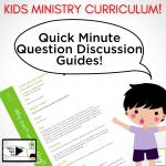 Kids Ministry Curriculum