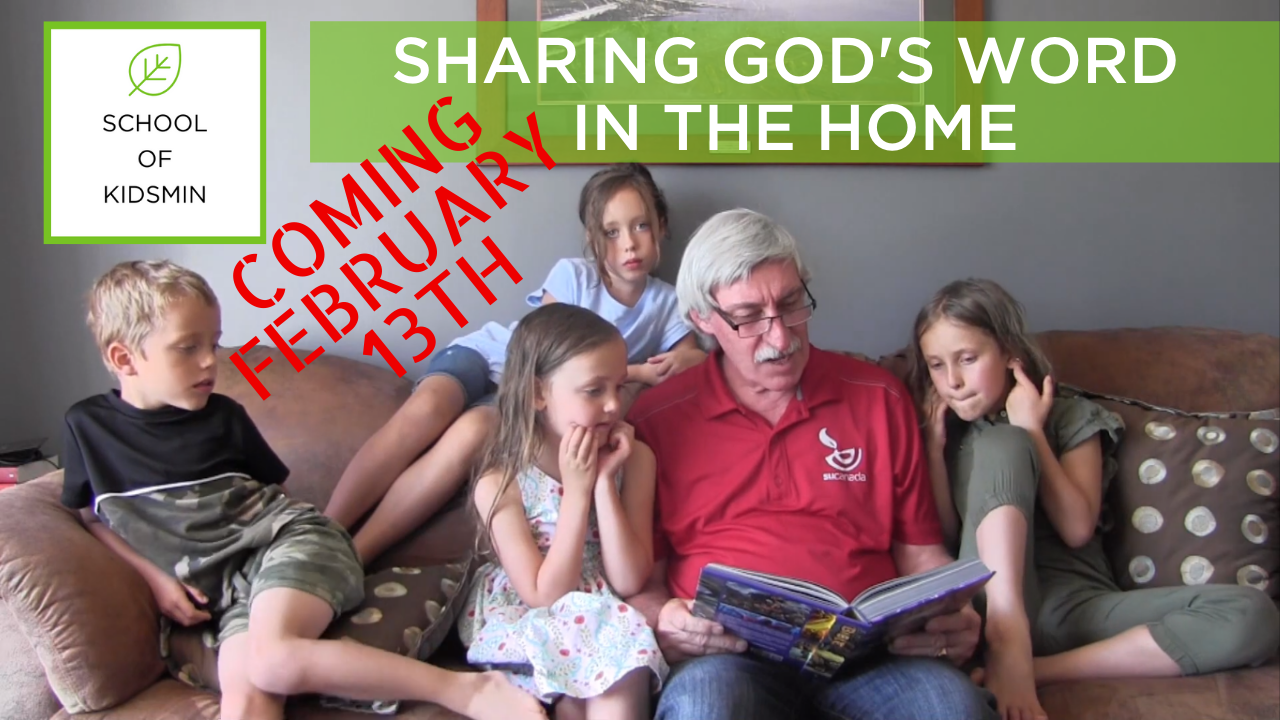 SHARING GOD'S WORD IN THE HOME (1)